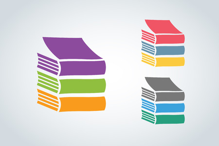 sales book: Books vector