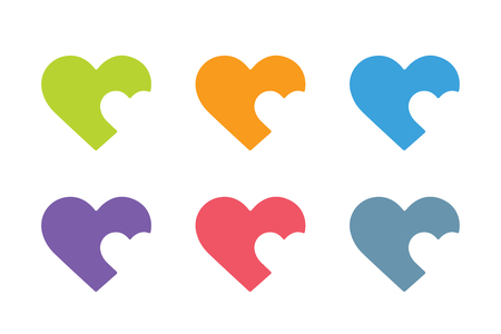 heart design: Heart icon vector