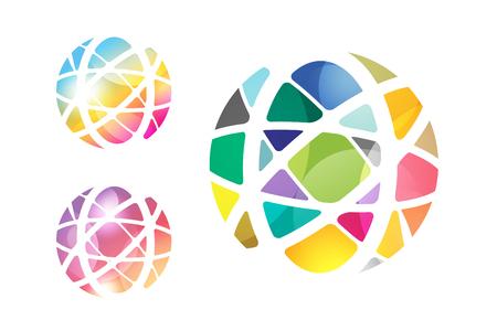 elemento: Vector abstract globo disegno.