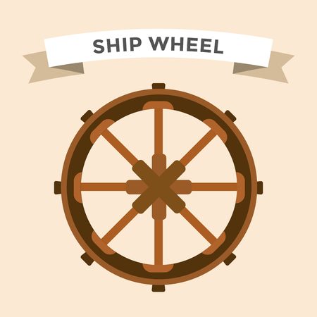 boat wheel: Vector rudder flat icons set. Rudder wheel illustration. Boat wheel control rudder vector icons set. Rudders, ships, se, wheel, round, control, yacht, cruise. Rudder icon. Wheel icons. Rudder and wheel isolated