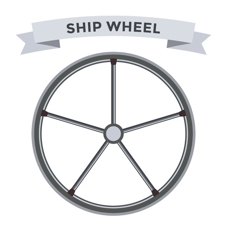 vector wheel: Vector rudder flat icons set. Rudder wheel illustration. Boat wheel control rudder vector icons set. Rudders, ships, se, wheel, round, control, yacht, cruise. Rudder icon. Wheel icons. Rudder and wheel isolated