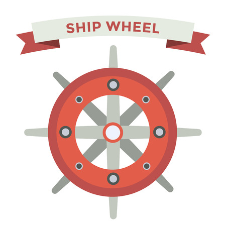 ship steering wheel: Vector rudder flat icons set. Rudder wheel illustration. Boat wheel control rudder vector icons set. Rudders, ships, se, wheel, round, control, yacht, cruise. Rudder icon. Wheel icons. Rudder and wheel isolated