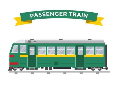 passenger train: Passenger train vector collection. Trains vector illustration on white background. Passenger train railway silhouette. Passenger, metro, subway trains vector railway. Travel passenger train