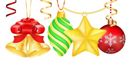 vector vintage christmas balls toys colorful new year tree decoration toys isolated christmas tree toys christmas ball christmas decoration greeting - New Toys For Christmas