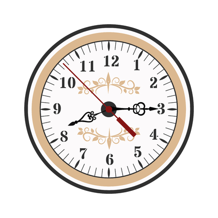 Clock watch alarms vector icons illustration. Clock face icons isolated on white background. Clocks, watch silhouette. Old, retro, modern and fashion clocks. Time tools icons, alarm, watch icons isolated Vektoros illusztráció