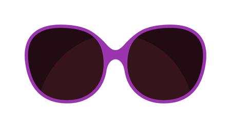 sunglasses isolated: Vector fashion glasses isolated on white. Fashion glasses. Hipster fashion glasses. Summer  fashion glasses vector illustration. Sunglasses isolated vector illustration