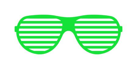 eyewear: Vector fashion glasses isolated on white. Fashion glasses. Hipster fashion glasses. Summer  fashion glasses vector illustration. Sunglasses isolated vector illustration