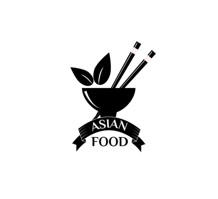 Asian food vector illustration.