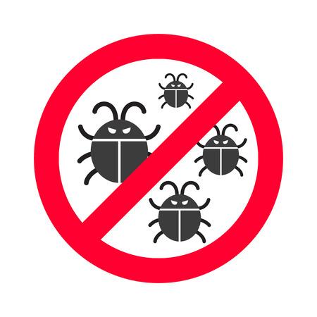 computer virus protection: Virus bugs vector. Virus bugs illustration. Virus bugs isolated on white. Virus bugs icon, virus bugs isolated. Virus bugs silhouette. Virus bugs flat style. Black virus bugs, virus bugs design Illustration