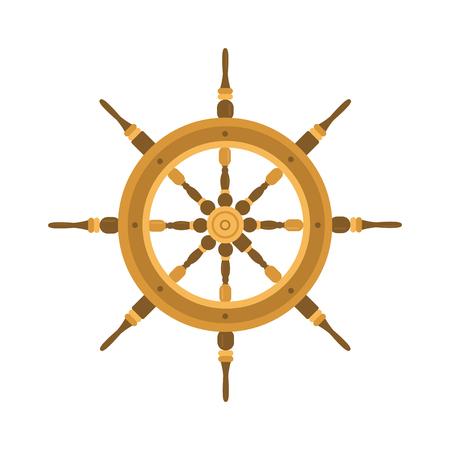 yacht isolated: Yacht wheel vector illustration. Yacht wheel isolated on white background. Yacht wheel vector icon illustration. Yacht wheel isolated vector. Yacht wheel silhouette