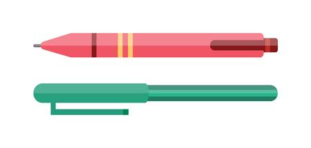Vector pen vector, vector pen illustration. Vector pen  isolated on white. Vector pen icon illustration. Vector pen  isolated vector. Vector pen silhouette. Vector pen flat style