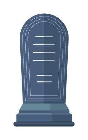 stone tombstone: Tombstone crypt vector construction isolated on white background. Traditional tomb stone grave for dead people. Some tomb crypt graveyard memorial symbol.