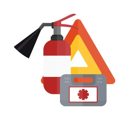 crankshaft: Various car parts sign equipment accessories, car equipment auto tools icons set vector. Car drive service elements concept with flat icons and mechanic car equipment vector. Illustration