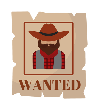 wanted poster: Most wanted poster vintage design and search most wanted people special poster vector. Most wanted man in hat poster concept grunge vector illustration. Western crime person