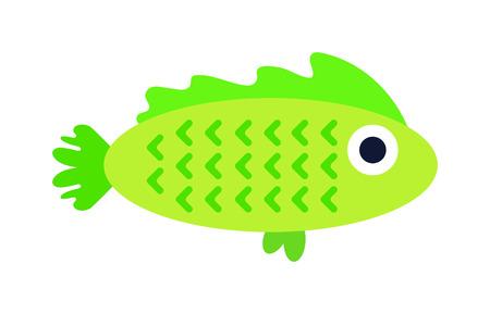 discus fish: Aquarium underwater fish and marine aquarium blue fish. Wildlife tropical sea aquarium fish, colorful ocean aquarium blue exotic fish. Blue discus fish aquarium underwater nature animal vector. Illustration
