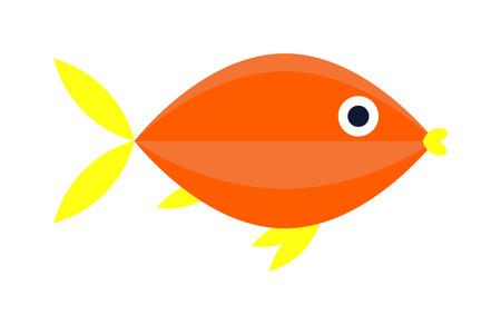 exotic fish: Aquarium underwater fish and marine aquarium blue fish. Wildlife tropical sea aquarium fish, colorful ocean aquarium blue exotic fish. Blue discus fish aquarium underwater nature animal vector. Illustration