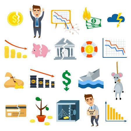 위기 기호 개념 위기 기호 문제. 위기 기호 경제 뱅킹. 비즈니스 금융 위기 심볼 디자인 금융 투자 아이콘입니다. 위기 기호 비즈니스 기호 금융 평면  일러스트