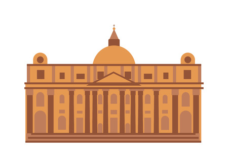 madrid spain: Royal palace architecture building and royal palace travel tourism square. Famous history royal place spanish facade. Royal palace at Madrid Spain architecture building landmark vector.