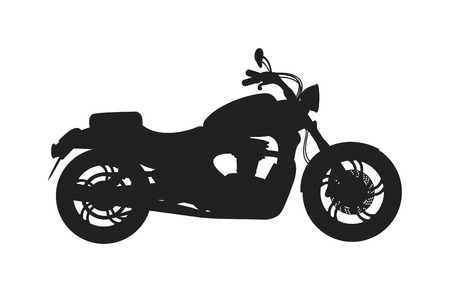 ciclista silueta: Clásico de bicicleta silueta negro y el deporte vencle moto rápida silueta camino de la raza del vector. Vector clásico de la bici de transporte. Ejemplo negro de la bicicleta clásica silueta del vector de energía de transporte.