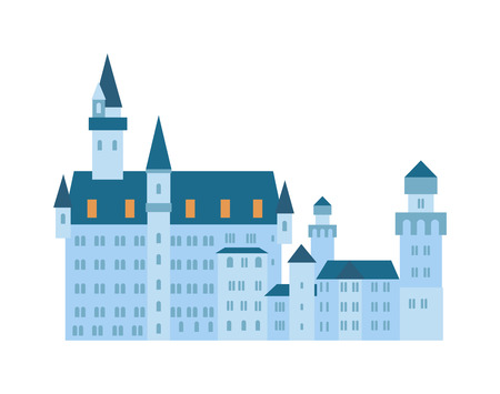 old door: Castle tower Castle tower stone building and old architecture castle tower. Castle fantasy tower ancient fortress historical king home monument. Scenic medieval city walls castle old tower vector. Illustration