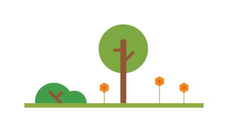 safari cartoon: Cartoon tree vector illustration. Cartoon tree isolated on white background. Cartoon tree vector icon illustration. Cartoon tree isolated vector. Cartoon tree symbol