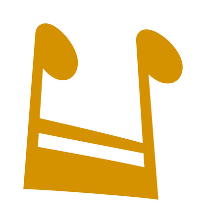crotchets: Black music notes vector set and silhouette of music notes graphic icons. Vector black icons music note melody symbols vector illustration.