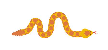 serpiente cobra: la fauna y el carácter de la serpiente víbora de la naturaleza de la serpiente. símbolo de serpiente Pitón plana, depredador reptil serpiente tóxico veneno. Serpiente de la historieta lengua venenosa peligro. víbora común del vector reptil salvaje peligro. serpiente vector, icono de la serpiente