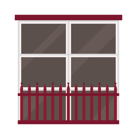 windows frame: Different types house windows vector elements isolated on white background. Windows elements flat vector style. Vector windows frames. Windows icons on white, Window frame isolated