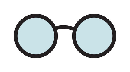 fashion glasses: Vector glasses isolated on white background. Hipster fashion glasses. Fashion glasses vector illustration. Glasses isolated vector illustration. Glasses vector, glasses icons. Glasses isolated white Illustration