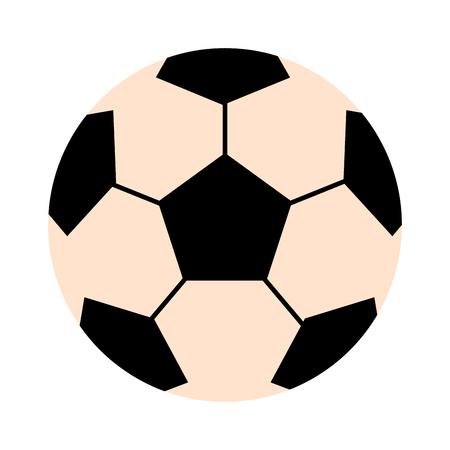 leather ball: Soccer ball isolated on white illustration. Soccer ball football sport equipment. Soccer ball design. Soccer ball . Soccer ball colored design. Soccer leather ball. Football soccer ball isolated