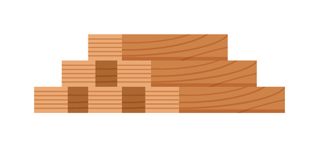 kindle: Stack of firewood logs and log stack energy industry. Log stack nature forest biofuels kindle charcoal, log stack woodpile. Stack of nine wooden logs firewood lumber tree cut flat vector