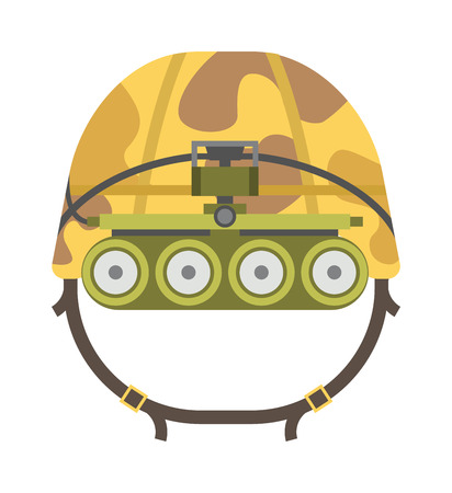 military helmet: Military tactical helmet of rapid reaction army and police symbol of defense vector illustration. Military helmet war army protection and military helmet camouflage steel uniform. Military helmet.