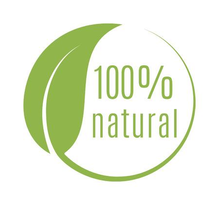 Abstracte bol groen blad embleem element vector ontwerp ecologie symbool. Blad logo pictogram en groen blad embleem embleem. Ecologie groen blad logo organisch milieu, boomblad logotype. Stock Illustratie