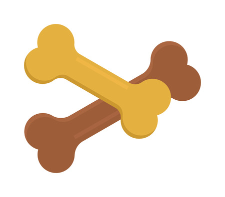 canine: Dog bone animal food meal pet biscuit toy canine snack plate vector. Dog bone food and meal dog bone puppy eat. Brown healthy biscuit dog bone food. Dinner bone dog cookie. Pet biscuit toy. Illustration