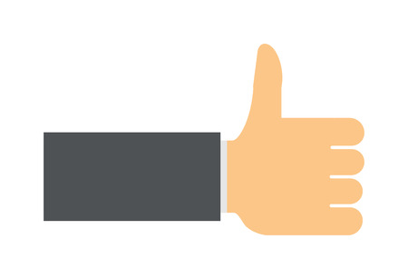 like hand: Like hand finger up sign thumb icon symbol success community line art vector. Finger up like hand icon and approve like hand icon. Good concept like hand communication networking super gesture. Illustration