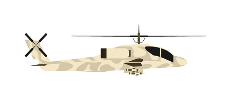 blackhawk helicopter: Military helicopter UH-60 hawk flat render air transportation army vector illustration. Air transportation army military helicopter and war aviation military helicopter. Helicopter vehicle attack.