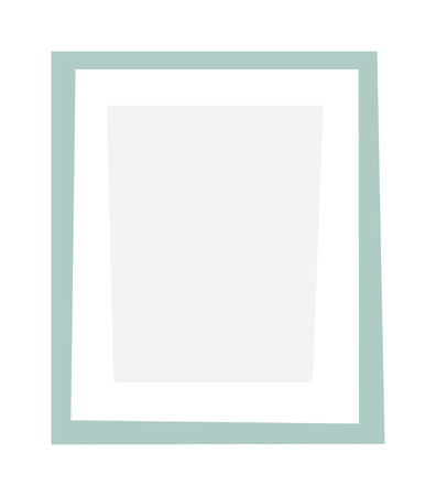 picture frame on wall: Blank empty picture frame on a white background. Empty picture frame blank image design vector icon. Empty picture frame wall decoration painting gallery. Empty picture frame abstract framework. Illustration