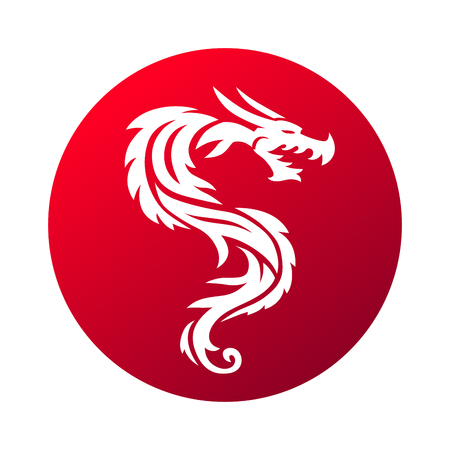 Red dragon paper. Dragon china zodiac symbols. Red dragon animal design and chinese red dragon. Red dragon china mythology cartoon icon. Character drawing dragon. Traditional decorative dragon symbol.