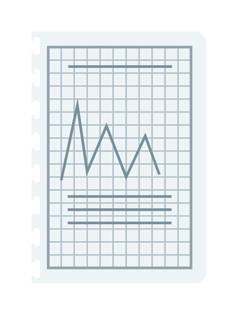 Doodle Blau Business Charts Und Pfeile Auf Weißem Lizenzfrei ...