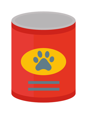 animal feed: Dog food vector illustration. and dog food animal snack canine nutrition vector illustration. Dog food nutrition puppy dish and tasty dog food. Dog food healthy care dinner treat animal feed.