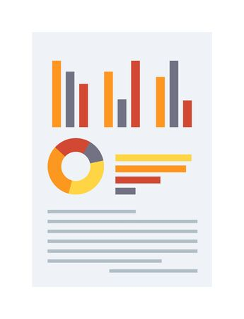 business plan and business chart vector business plan vector
