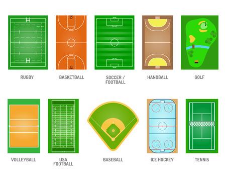 Groen gras op golfgebied. Groen gras spel voetbal spelen voetbalstadion speelvelden. Goal team bal gazon speelvelden spelen en speelvelden speeltuin weide leisure outdoors league.