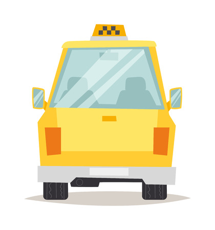 yellow taxi: Yellow taxi isolated. Yellow taxi vector and yellow taxi car vehicle. Transportation cab yellow taxi and travel traffic automobile yellow taxi. Urban wheel symbol business sign yellow taxi. Illustration