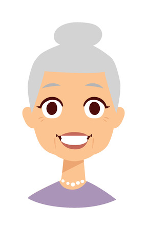 happy mature couple: Old people cute granny and funny cute granny face. Cute granny vector character and cartoon cute happy granny. Cute granny adult happy woman face and old granny character love lifestyle.