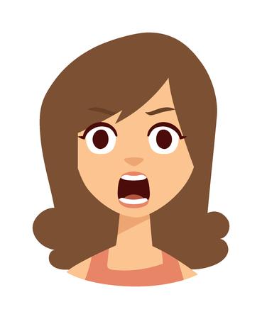 sad lonely girl: Sadness woman vector illustration. Sadness beautiful woman and unhappy depressed face sadness woman.  Stress beauty emotion loneliness sadness woman and pain expression attractive sadness woman.