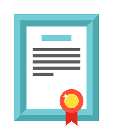 honor: Vector certificate template. Certificate diploma vector award, success template certificate border. Business coupon decorative certificate and honor blank value invitation certificate. Illustration
