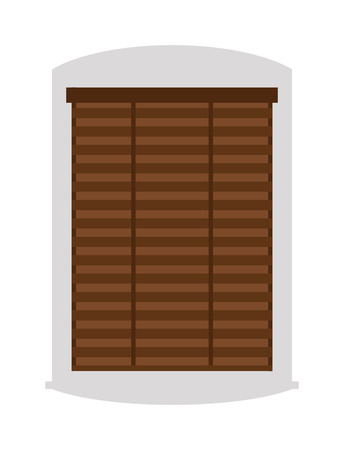 wooden window: House wooden window vector isolated on white background. Window elements flat vector style. Vector window frames. Window icon on white, Window frame isolated