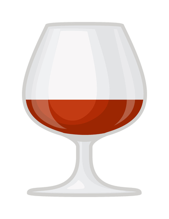 red wine pouring: Red wine in a glass isolated on white background and glass of wine vector drink. Glass of red wine and glass of wine alcohol beverage celebration grape merlot. Gourmet restaurant party alcohol liquor. Illustration
