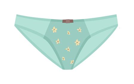 culottes femelles types plat minces culottes bikini vecteur icône. Femme mode de sous-vêtements sous-vêtements styles de bikini collection. Sous-vêtements slips bikini conception éléments de mémoires classiques.