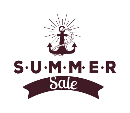 summer sale: Summer sale Illustration